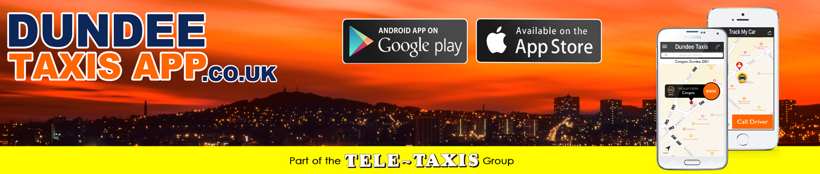 Download Dundee Taxis App