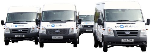 Minibus Hire Dundee and Angus