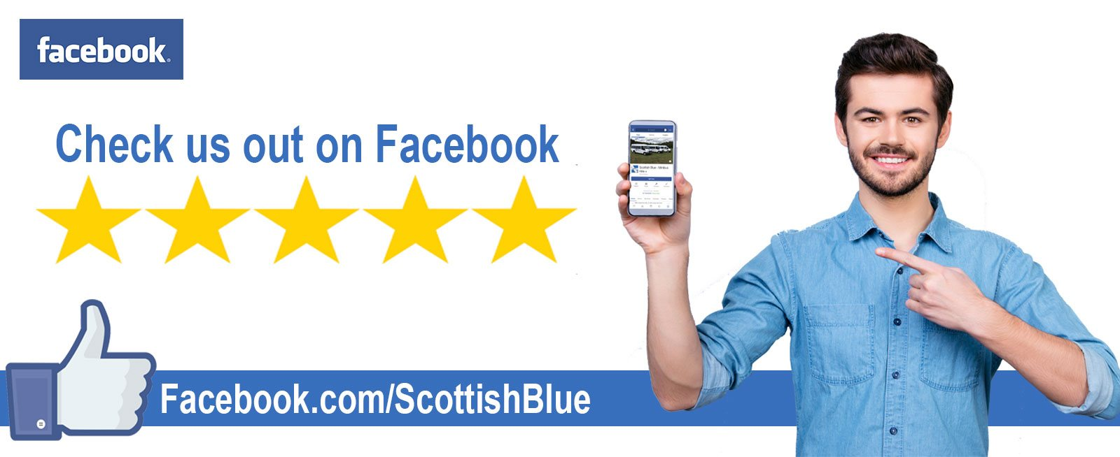 Scottish Blue on Facebook