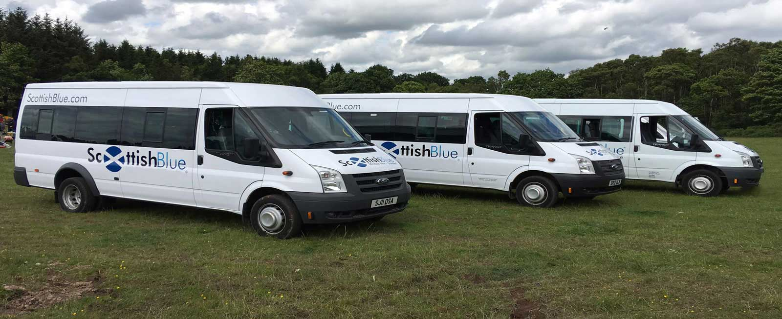 Scottish Blue Minibus Hire